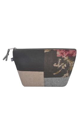 Picture of Earth Squared Vintage Flower Patchwork Make Up Bag