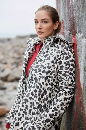 Picture of Ilse Jacobsen Leopard Print Raincoat