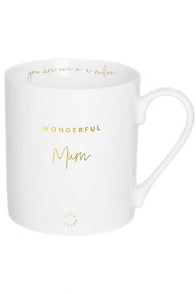 Picture of Katie Loxton Porcelain Mug - Wonderful Mum