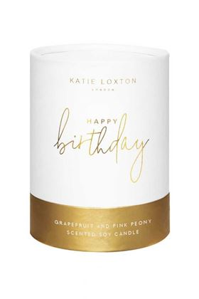 Picture of Katie Loxton - Happy Birthday Candle