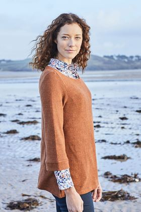 Picture of Lily & Me Hedgerow Plain Knit Top
