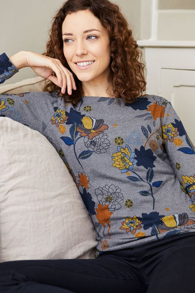 Picture of Lily & Me Angela Chrysanthemum Top