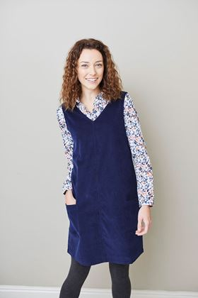 Picture of Lily & Me Gatehouse Plain Cord Dress