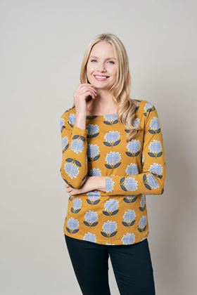 Picture of Lily & Me Cleeve Modern Flower Top