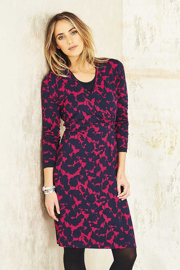 Picture of Adini Reflection Print Reflection Dress