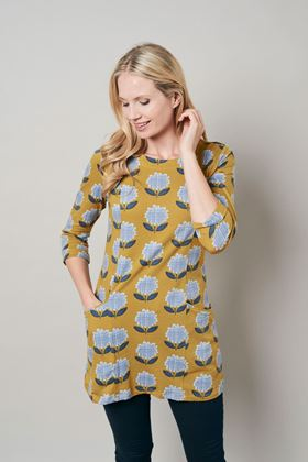 Picture of Lily & Me Everyday Jersey Modern Flower Tunic