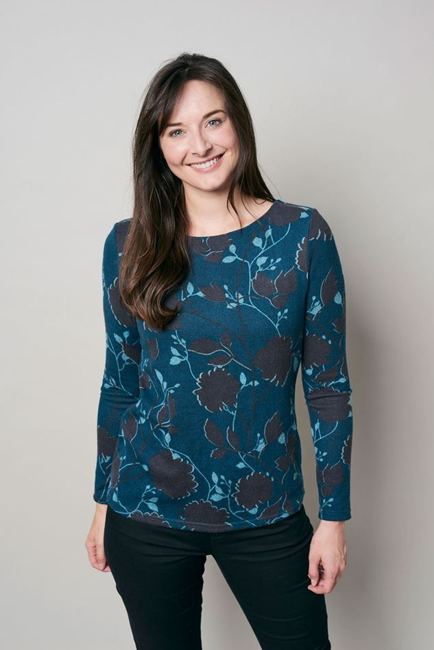 Picture of Lily & Me Angela Mono Silhouette Top