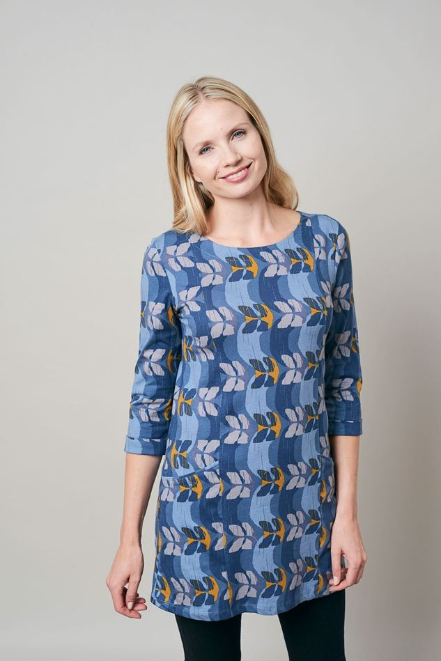 Picture of Lily & Me Everyday Jersey Ribbon Print Tunic