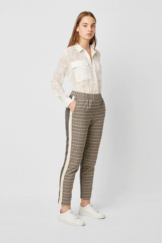 Picture of French Connection Amati Check Tailored Trousers