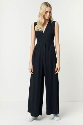Picture of French Connection Carrabelle Crepe Pleated Jumpsuit