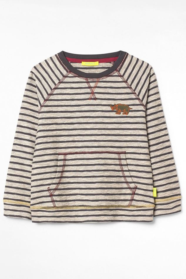 Picture of White Stuff Kids Matty Stripe Long Sleeved Top
