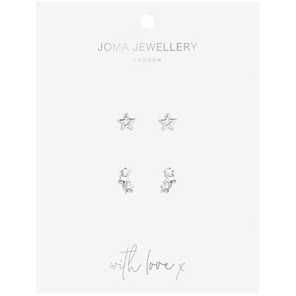 Picture of Joma Jewellery Star Earring Set