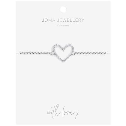 Picture of Joma Jewellery Evie Heart bracelet