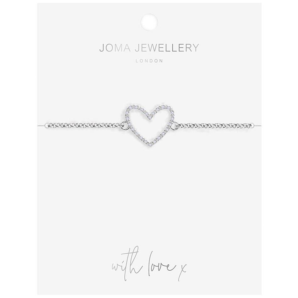 Picture of Joma Jewellery Evie Heart bracelet