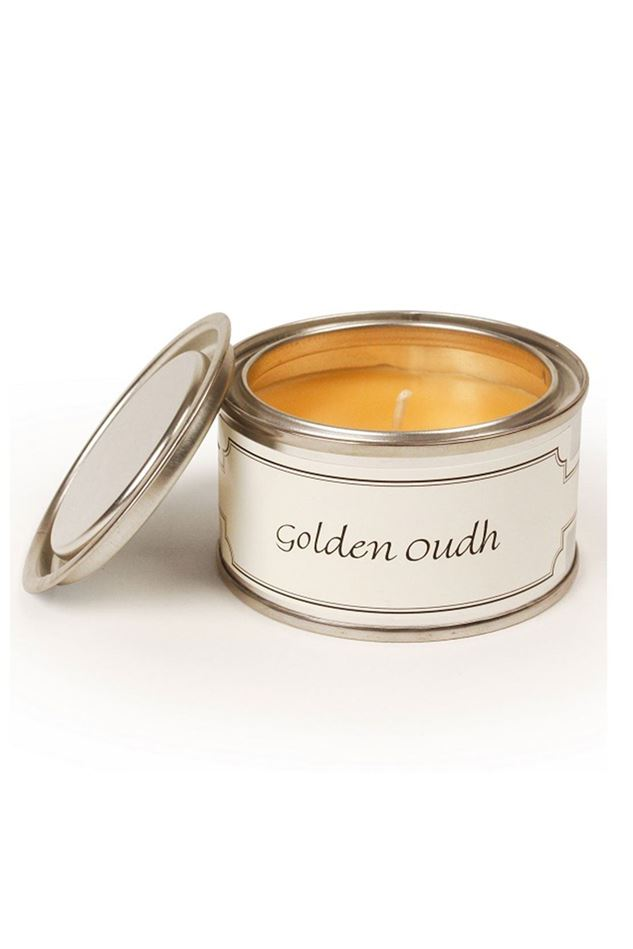 Picture of Pintail Golden Oudh Paint Pot Candle