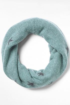 Picture of White Stuff Star Reversible Snood