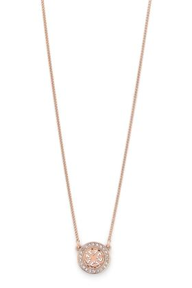 Picture of Pilgrim Henrietta Rose Gold Plated Crystal Necklace