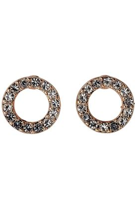 Picture of Pilgrim Victoria Rose Gold Plated Crystal Earrings