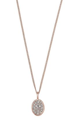 Picture of Pilgrim Urd Rose Gold Plated Crystal Necklace