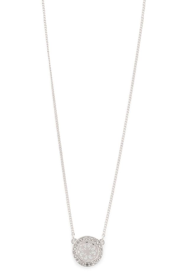 Picture of Pilgrim Henrietta Silver Plated Crystal Necklace