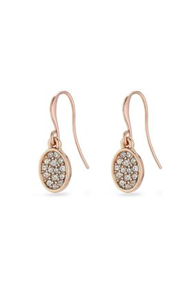 Picture of Pilgrim Urd Rose Gold Plated Crystal Earrings