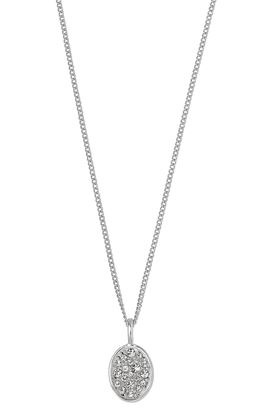 Picture of Pilgrim Urd Silver Plated Crystal Necklace