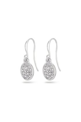 Picture of Pilgrim Urd Silver Plated Crystal Earrings