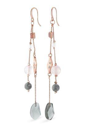 Picture of Pilgrim Verdandi Rose Gold Plated Earrings