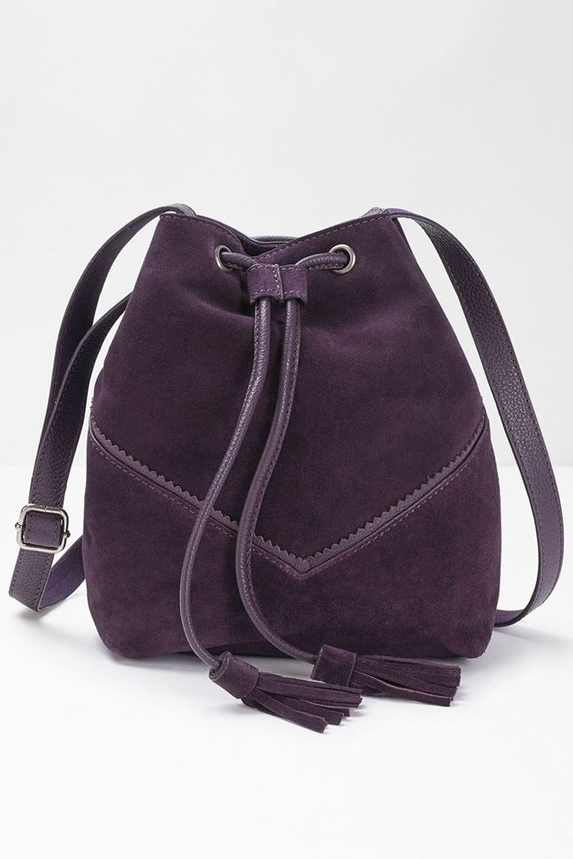Picture of White Stuff Tawny Suede Bucket Bag