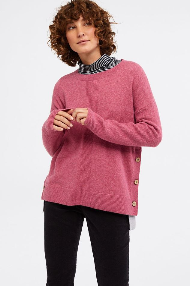 Picture of White Stuff Cafe Button Side Jumper