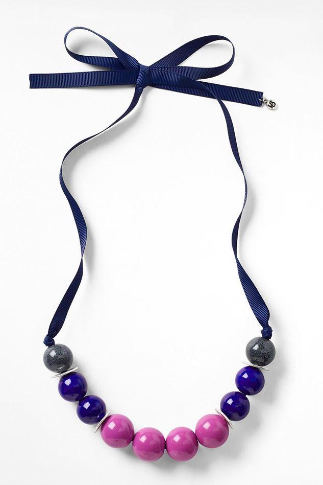 Picture of White Stuff Colourblock Ceramic Necklace