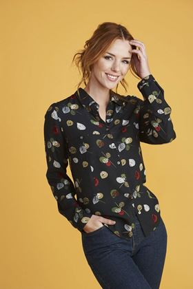 Picture of Mistral Graphic Leaf Shirt