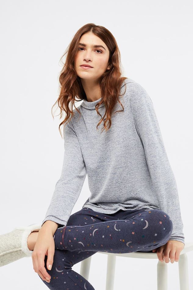 Picture of White Stuff Cosy Mist Petal Top