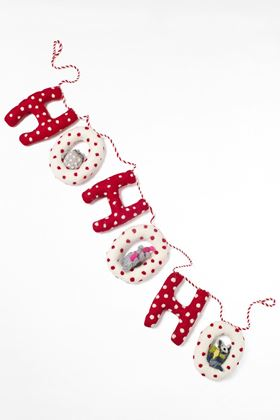 Picture of White Stuff HoHoHo Woodland Garland
