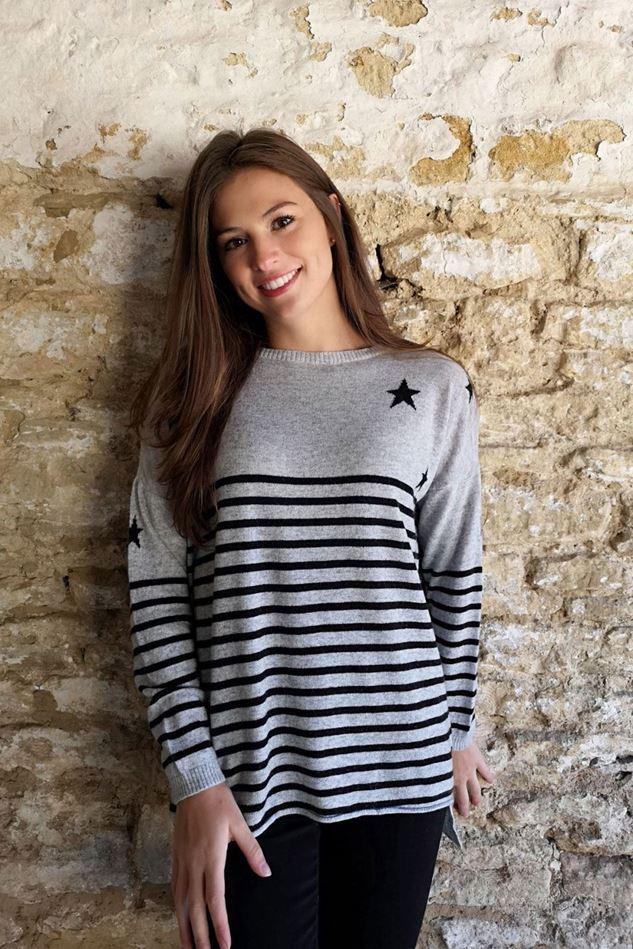 Picture of Luella Cashmere Stars and Stripes Jumper