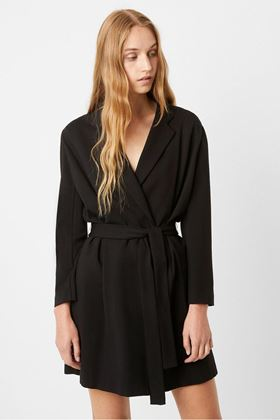 Picture of French Connection Sadria Lula Tuxedo Blazer Dress