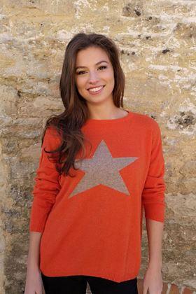 Picture of Luella Cashmere Classic Star Jumper