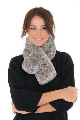 Picture of Franchetti Bond Sofia Fur Scarf