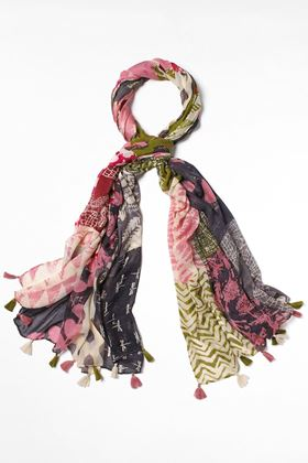 Picture of White Stuff Margot Printed Modal Scarf