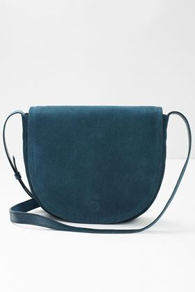 Picture of White Stuff Shona Saddle Suede Crossbody