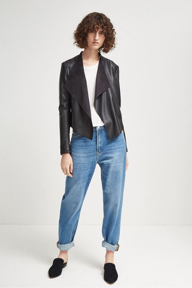 Picture of French Connection Stephanie PU Waterfall Jacket