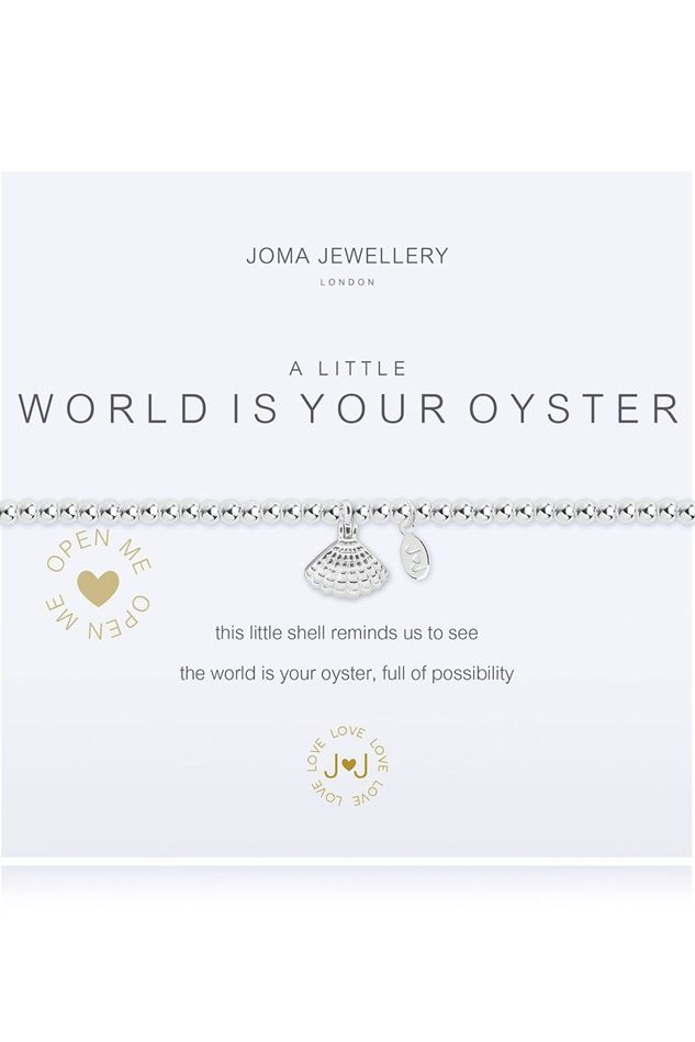 Picture of Joma Jewellery A Little The World Is Your Oyster Bracelet