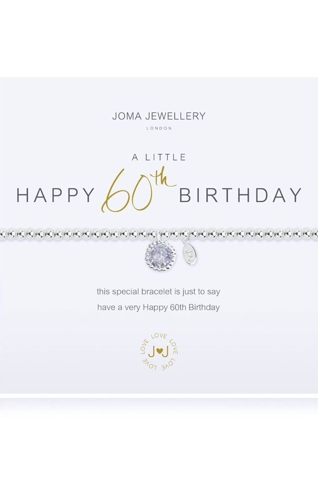 Picture of Joma Jewellery a Little Happy 60th Birthday