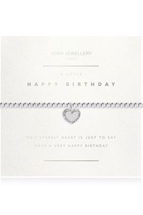 Picture of Joma Jewellery 'A little Happy Birthday' Facetted bracelet
