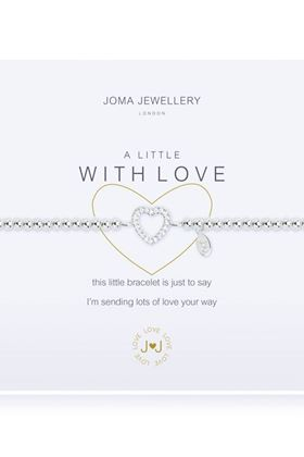 Picture of Joma Jewellery A little With Love Bracelet