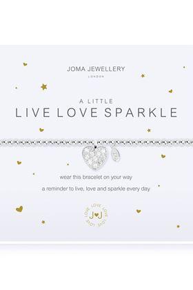 Picture of Joma Jewellery a little Live Love Sparkle Bracelet