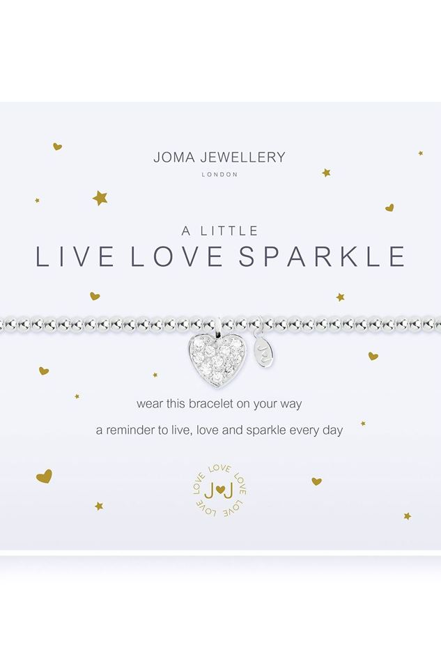 Picture of Joma Jewellery a little Live Love Sparkle Bracelet
