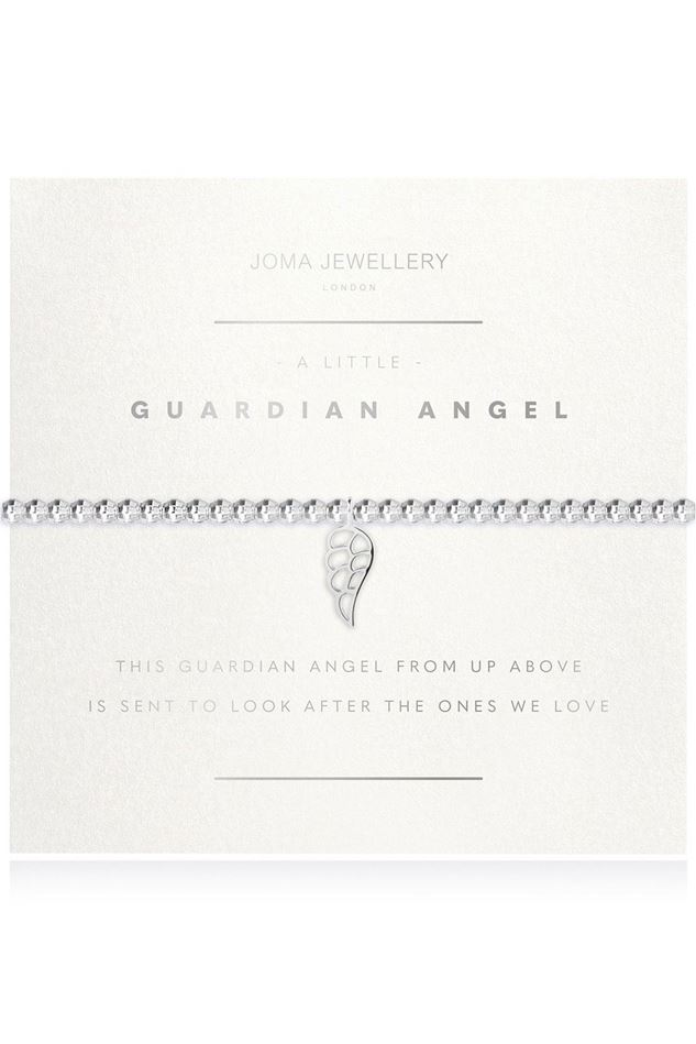 Picture of Joma Jewellery a little Guardian Angel Facetted Bracelet