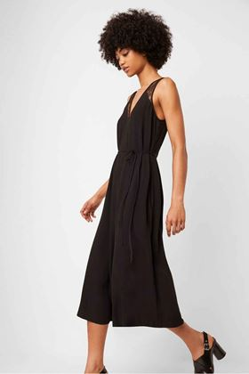 Picture of French Connection Angie Lace Belted Jumpsuit