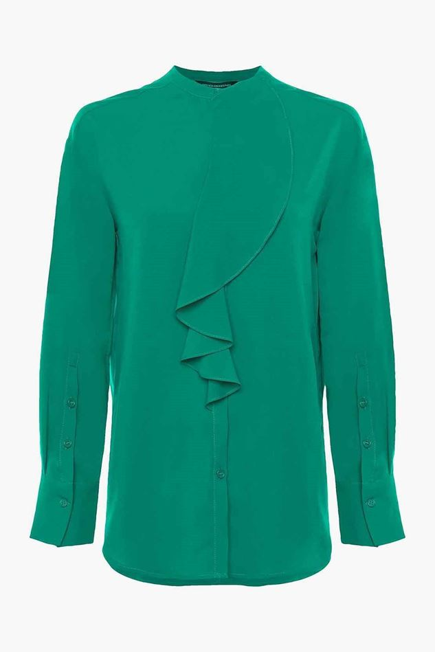 Picture of French Connection Elna Light Ruffle Shirt